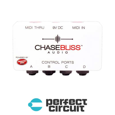 Chase Bliss Audio Midibox Pedal Interface