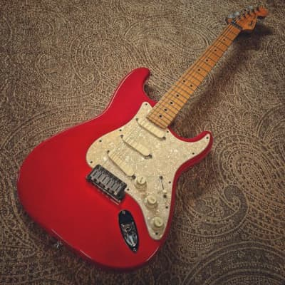 Fender Strat Plus with Maple Fretboard 1987-88 Torino Red for sale