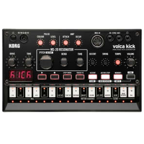 Korg Volca Kick Analog Bass / Kick Generator