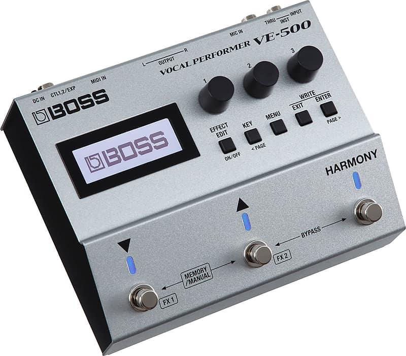 boss ve 500 vocal multi effects performer pedal for reverb. Black Bedroom Furniture Sets. Home Design Ideas
