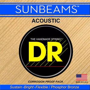 DR RCA-12 Sunbeam Medium Acoustic Strings (12-54)
