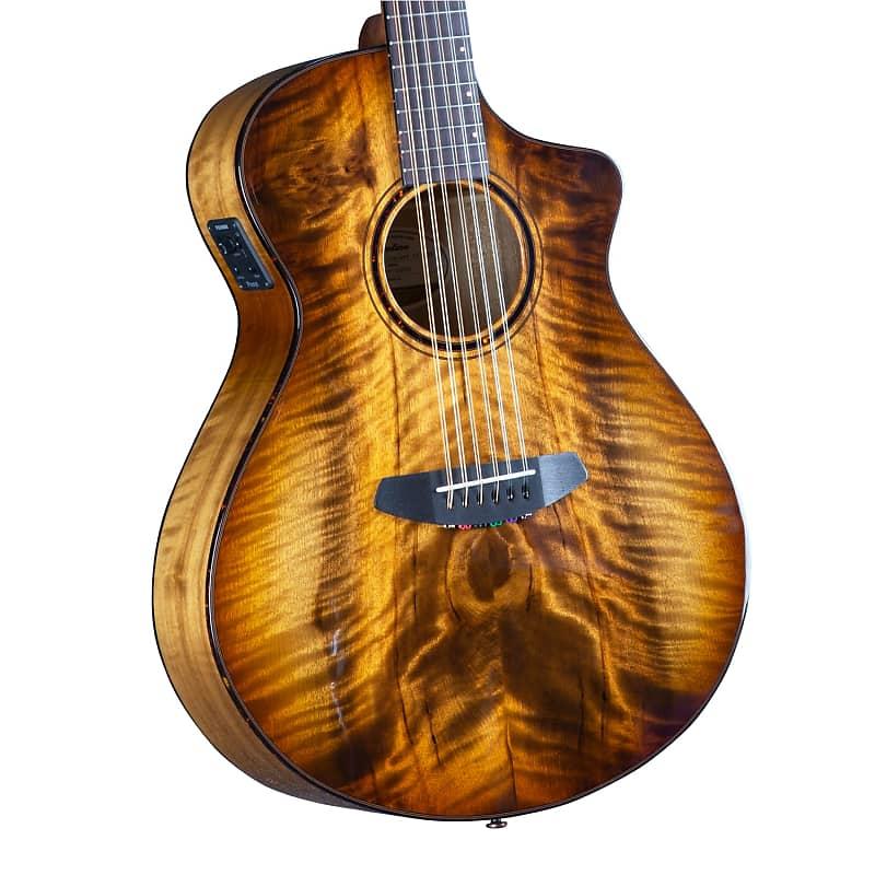 Breedlove Pursuit Exotic S Concert Amber 12 String CE Myrtlewood-Myrtlewood
