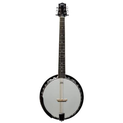 New Oscar Schmidt OB6 Closed Back 6-String Resonator Banjo w/ Remo Head for sale
