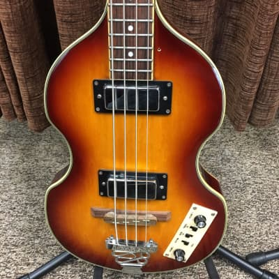 Jay Turser JTB-2B Violin Beatle Bass Vintage Sunburst for sale