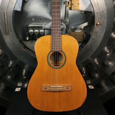 Silvertone Vintage Classic Guitar Natural for sale