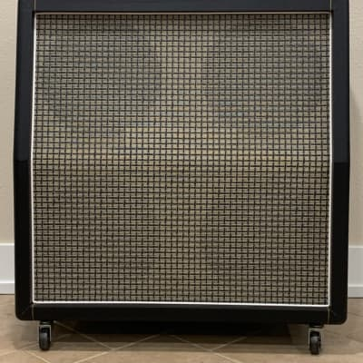 Germino 4x12 Checkerboard Slant Speaker Cabinet for sale