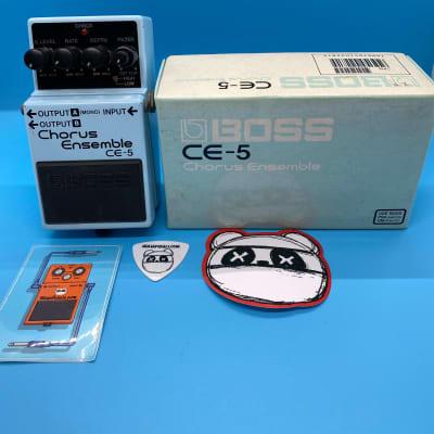 Boss CE-5 Chorus Ensemble | Rare (Pink Label) w/Original Box | Fast Shipping!