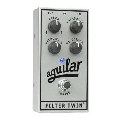 Aguilar Filter Twin Dual Envelope Bass Filter Silver 25th Anniversary Edition