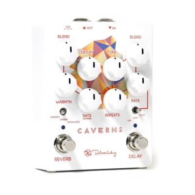 New Keeley Caverns Delay Reverb V2 Guitar Effects Pedal! Free 2 Day Shipping!