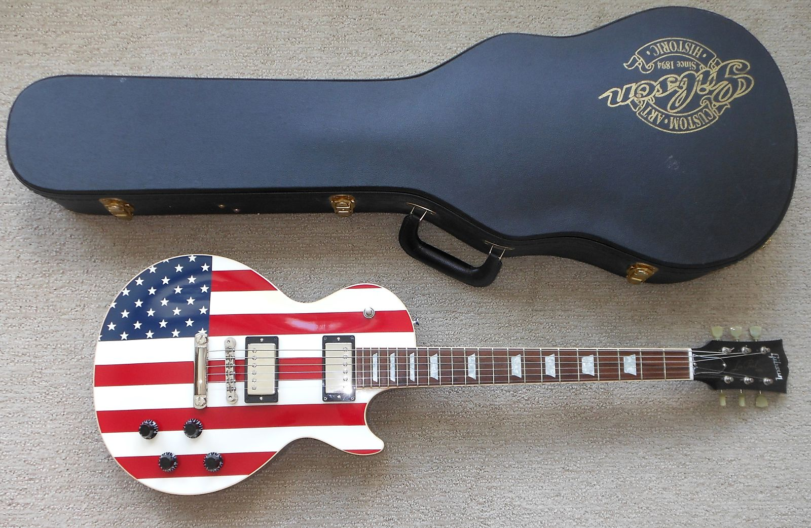 Star Spangled Banner Les Paul The Gear Page