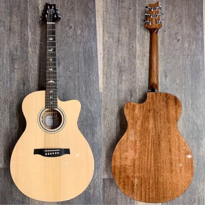 PRS SE Angelus AX20E Cutaway Acoustic Electric Guitar Natural for sale