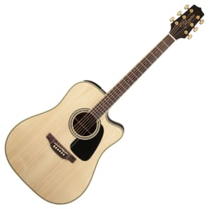 Takamine GD51CE NAT G50 Series Dreadnought Cutaway Acoustic/Electric Guitar Natural Gloss