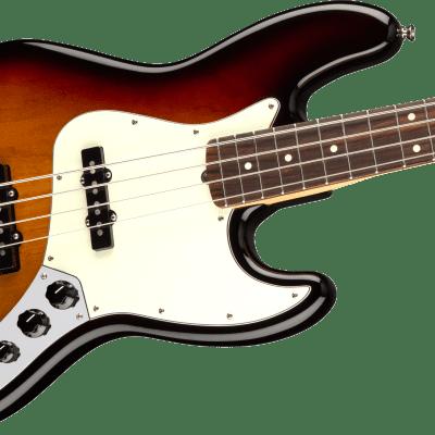Fender American Professional Jazz Bass Guitar Rosewood Fingerboard, 3-Color Sunburst W/Case for sale