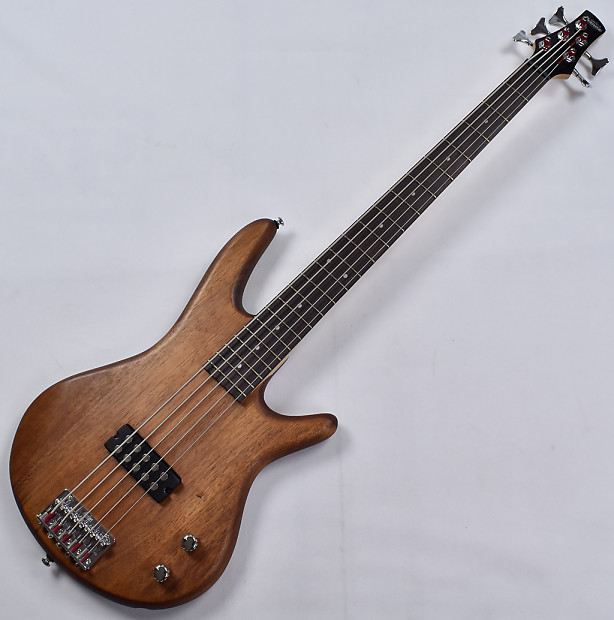 Ibanez GSR105EX GIO Series 5 String Electric Bass in Mahogany | Reverb
