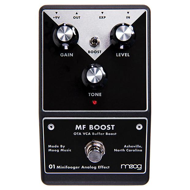 moog minifooger mf boost booster guitar effects pedal reverb. Black Bedroom Furniture Sets. Home Design Ideas