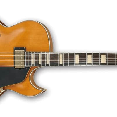 Ibanez AKJV90D DAL Artcore Expressionist Vintage - Dark Amber Low Gloss - b-stock for sale