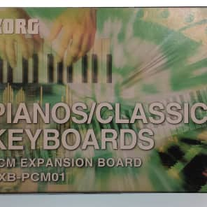 Korg EXB-PCM01 Pianos/Classic Keyboards 16MB PCM Expansion Board For TRITON, TRITON Pro, Karma