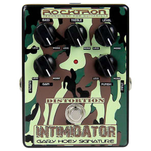 Rocktron Gary Hoey Intimidator Distortion Effect Pedal