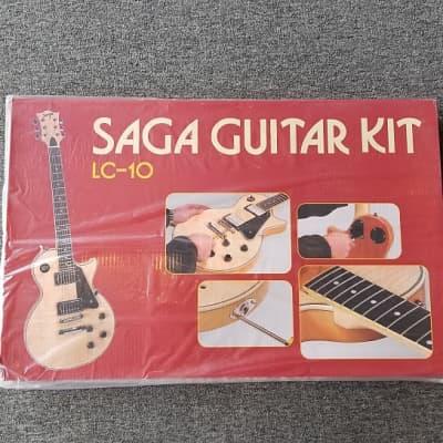 Saga LC-10 Electric Guitar Kit 2010's Natural for sale