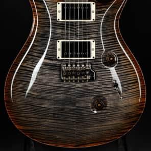 Paul Reed Smith Eddie's Guitars Wood Library Custom 24 Fatback - Burnt Maple Leaf/Figured Maple/2018