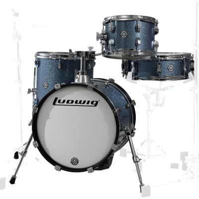Ludwig Breakbeats by Questlove 4pc Shell Pack