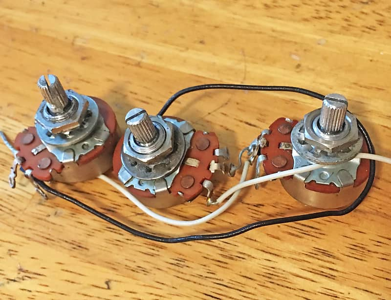 1973 / 1974 Fender Stratocaster Volume and Tone Pots, | Reverb