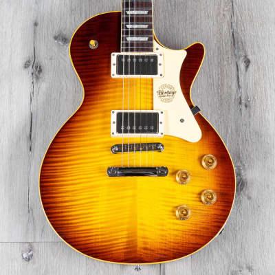 Heritage Custom Shop Core Collection H-150 Guitar w/ Case, Tobacco Sunburst