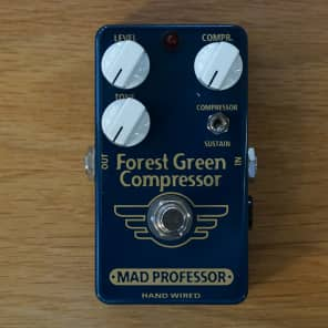 Mad Professor Forest Green Compressor Hand Wired for sale