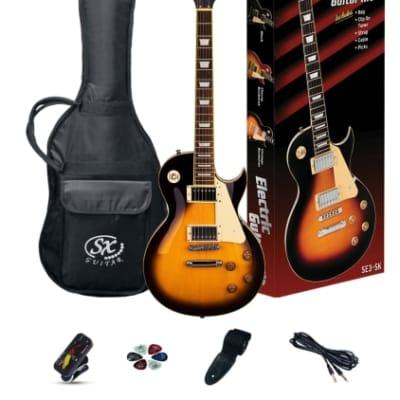 SX SE3SK ELECTRIC GUITAR LES PAUL STYLE VINTAGE SUNBURST for sale