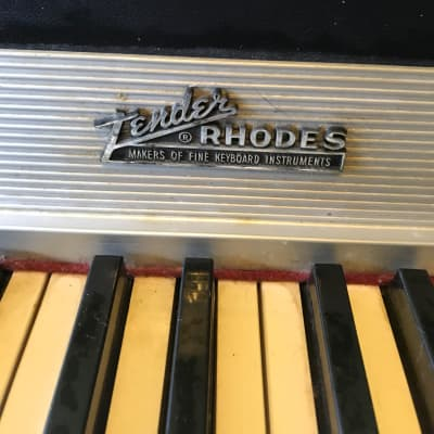 Fender Rhodes 1974 Mark I Stage