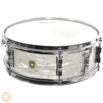 "Ludwig 5x14"" 6-Lug Pioneer Snare Drum 1960s Common Wrapped Finish image"