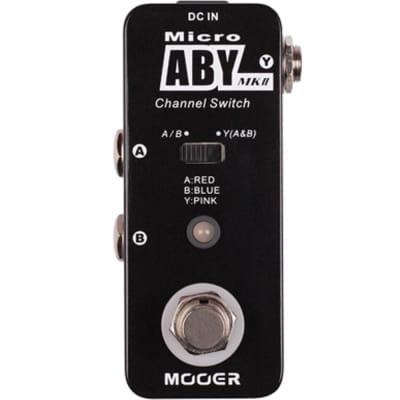 New Mooer ABY AB Switch Micro Guitar Pedal Tuner! for sale
