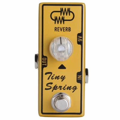 "Tone City ""Tiny Spring"" Micro Reverb Fast U.S. Shipping! No Overseas or Cross Border Wait times"