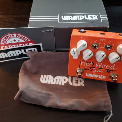 Wampler Hot Wired V2 with Top Mounts