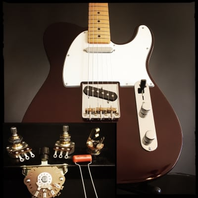 sidewinder guitars telecaster 3-way wiring kit