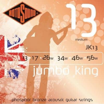 Rotosound JK13 Jumbo King Electric, Medium, 13-56 for sale