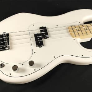 Fender Standard Precision Bass Maple Fingerboard Arctic White 0146102580 (583) for sale