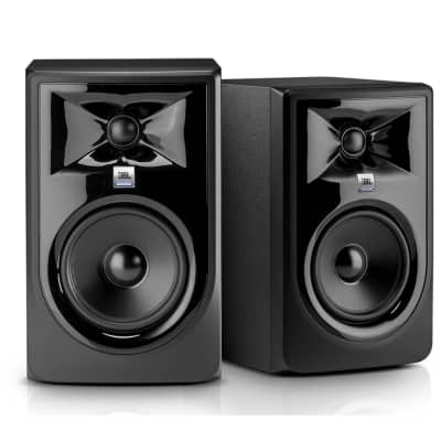 "JBL 306P MkII 2-Way 6.5"" Active Nearfield Studio Monitors (Pair)"