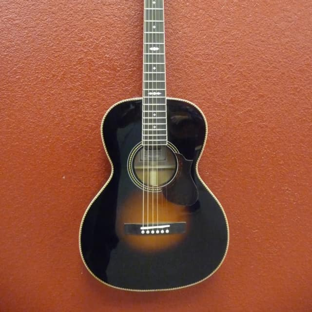 Gretsch G9531 Style 3 Double-0 Grand Concert Acoustic Guitar Appalachia Cloudburst, BLEMISH image