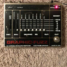 Electro-Harmonix Graphic Fuzz 2005 Silver / Red