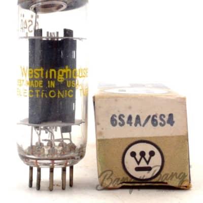 Westinghouse 6S4A Vertical Deflection Amplifier TV Triode Valve- BangyBang Tubes