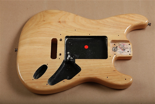 1997 Fender American Series Ash Stratocaster Body Natural