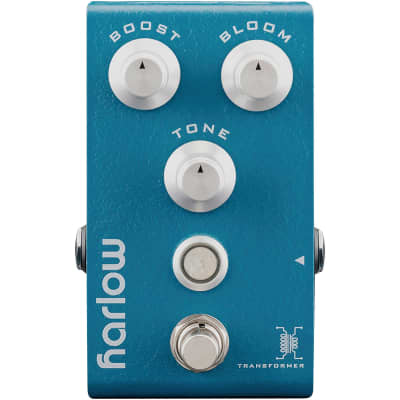 Bogner Harlow V2 Boost Guitar Effects Pedal w/Bloom Compression Feature and Neve Custom Transformer