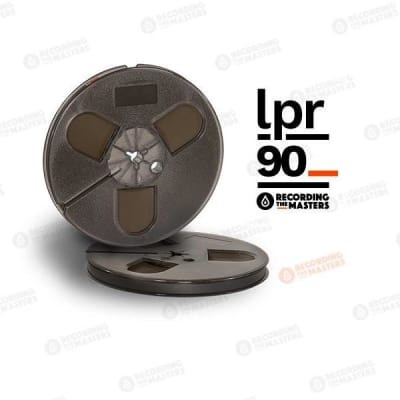 "Recording The Masters  - RTM / LPR90 1/4"" Audio Tape - 1800 FT x 7"" Plastic Reel Trident"