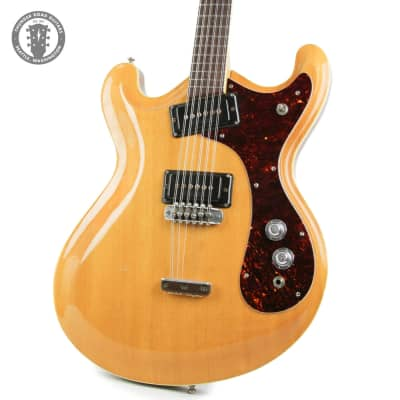 1966 Mosrite Joe Maphis Mark XII 12 string  Natural Blond for sale