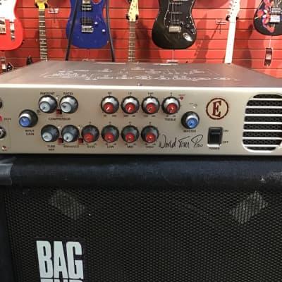 Eden WTP600 World Tour Pro Bass Guitar Amplifier Head