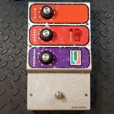 Musitronics Phasor II 1970's Vintage Phaser Mu-Tron Phase