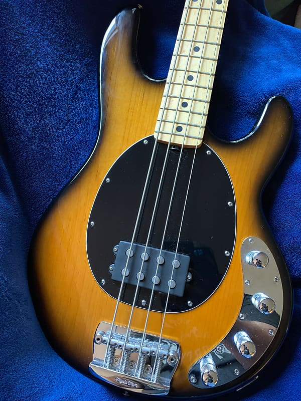 ernie ball music man stingray 4 h bass guitar reverb. Black Bedroom Furniture Sets. Home Design Ideas