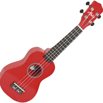 Aloha 200RD ukelele soprano color rojo for sale