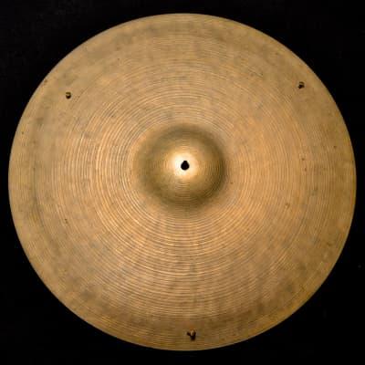 "K. Zildjian 20"" Intermediate Stamp Ride Cymbal 1959 - 1966"